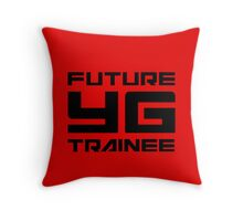 FUTURE YG TRAINEE - RED Throw Pillow