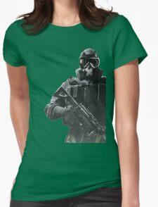 Rainbow Six Siege *Mute* Womens Fitted T-Shirt