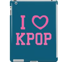 I HEART KPOP - BLUE iPad Case/Skin