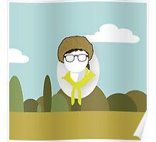 Wes Anderson - Moonrise Kingdom - Sam Shakusky - Boy scout Poster