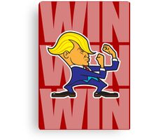 WIN... WIN... WIN! Canvas Print