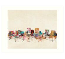 el paso texas skyline Art Print