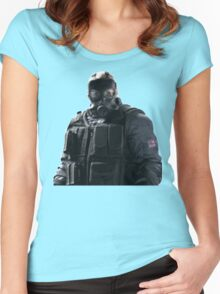 Rainbow Six Siege *Sledge* Women's Fitted Scoop T-Shirt