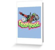 Fresh Pool (regular colors) Greeting Card