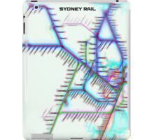 Sydney City Rail Map iPad Case/Skin