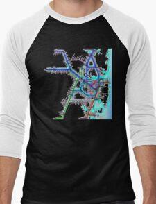 Sydney City Rail Map Men's Baseball ¾ T-Shirt