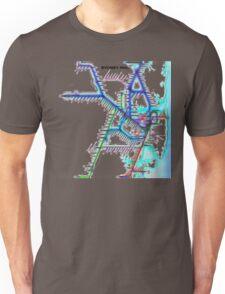 Sydney City Rail Map Unisex T-Shirt