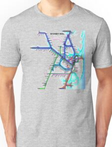 Sydney City Rail Map Unisex T-Shirt