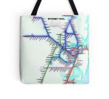 Sydney City Rail Map Tote Bag