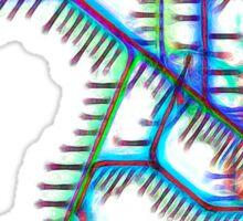 Sydney City Rail Map Sticker
