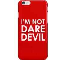 I'm Not Daredevil – Matt Murdock, Cosplay, Christmas iPhone Case/Skin