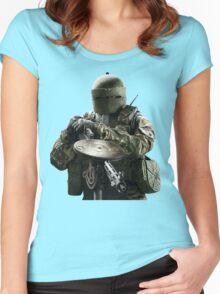 Rainbow Six Siege *Tachanka* Women's Fitted Scoop T-Shirt