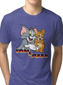 Tom & Jerry Tri-blend T-Shirt