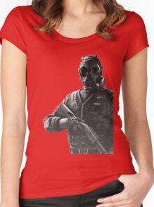 Rainbow Six Siege *Tahtcher* Women's Fitted Scoop T-Shirt