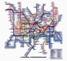 London Underground Tube One Piece - Short Sleeve