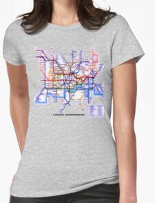 London Underground Tube Womens Fitted T-Shirt
