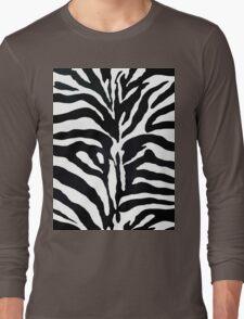 Zebra Long Sleeve T-Shirt