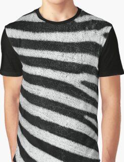 Zebra Style Graphic T-Shirt