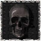 Metal Skull by Benedikt Amrhein