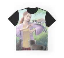 My Lemur Friends Graphic T-Shirt