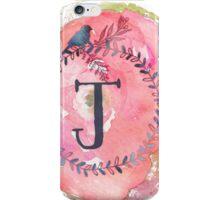 Pretty in Pink - J iPhone Case/Skin