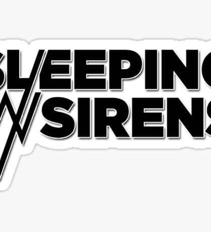 Sleeping With Sirens Logo Sticker