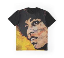 ANGELA DAVIS-4C Graphic T-Shirt