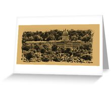 """""""The Kentucky State Capital Building""""... prints and products Greeting Card"""
