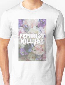 Floral Feminist Killjoy Unisex T-Shirt