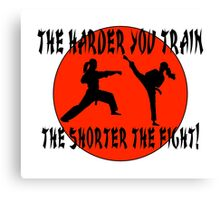 For Martial Art Champions. Canvas Print