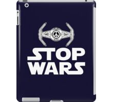 Stop Wars iPad Case/Skin