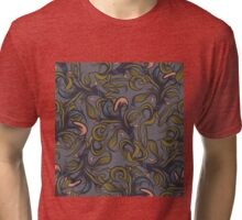 Abstract herbal seamless pattern. Tri-blend T-Shirt
