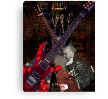 Guitar Rock Series Canvas Print