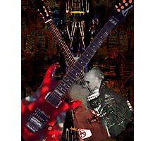 Guitar Rock Series Photographic Print