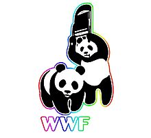 WWF (Behind The Scene) Colored Photographic Print