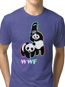 WWF (Behind The Scene) Colored Tri-blend T-Shirt