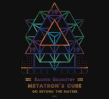 SACRED GEOMETRY METATRON MATRIX Baby Tee