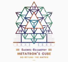 SACRED GEOMETRY METATRON MATRIX Kids Tee