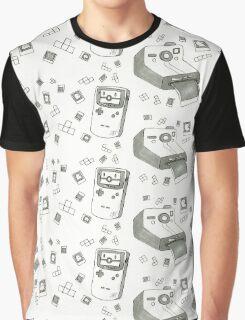 Pixels and Polaroids Graphic T-Shirt