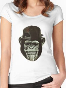 Gorilla Women's Fitted Scoop T-Shirt