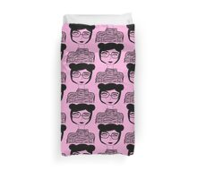 Sophisticated Little Lady  Duvet Cover