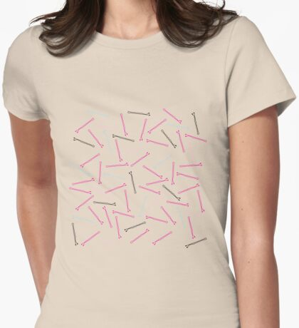 Bobby Pins Womens Fitted T-Shirt