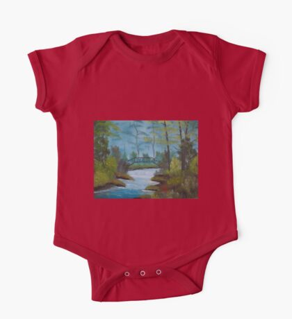 Oil Painting 8 One Piece - Short Sleeve