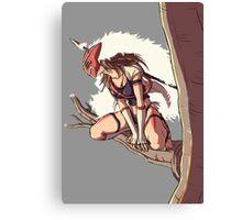 Wild Mononoke Canvas Print
