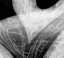 Black & White Composition Sticker