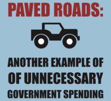 Paved Roads Kids Tee