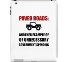 Paved Roads iPad Case/Skin