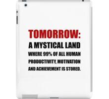 Tomorrow iPad Case/Skin