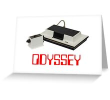 Magnavox Odyssey Greeting Card