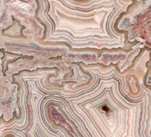 Crazy Lace Agate Mineral Sticker